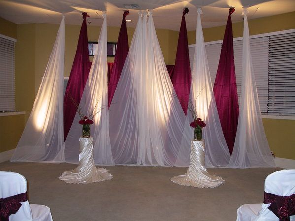 Wall Decoration For Wedding Ideas : Best wedding hall decorations ideas on