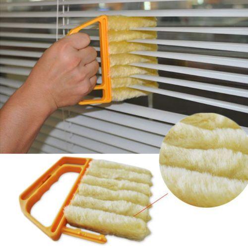 Microfibre-Venetian-Blind-Brush-Window-Air-Conditioner-Duster-Dirt-Clean-Cleaner