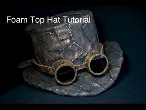 How To Make A Top Hat, DIY Steampunk Fashion Pattern Tutorial (+playlist)