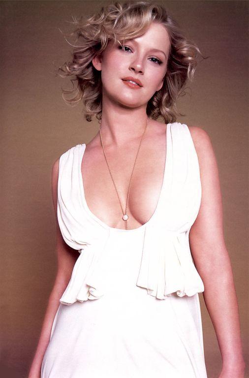 white plunging neckline dress