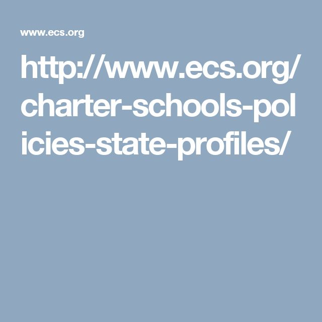 http://www.ecs.org/charter-schools-policies-state-profiles/