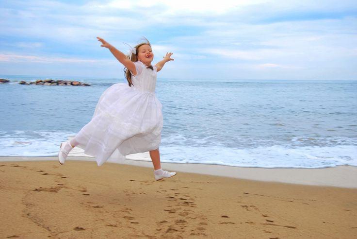 fotos primera comunion playa mar - Buscar con Google