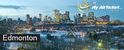 Edmonton in CANADA.. #travel #flights #airfare #airline #Dallas #India #airtickets #Newyork#international #myairticket #Cheapest  http://www.myairticket.com/myairticket/india.php