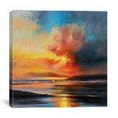 Found it at Joss & Main - Emerging Sun by Scott Naismith Painting Print on Wrapped Canvas