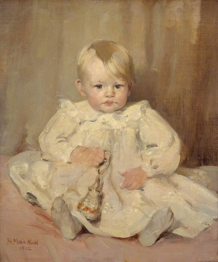Baby Crawford by Bessie MacNicol 1902