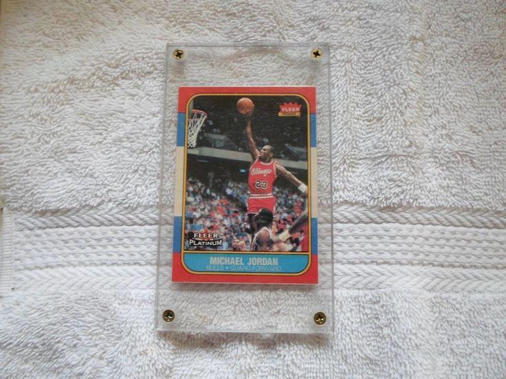 1986 fleer reprint card michael jordan 10f 25
