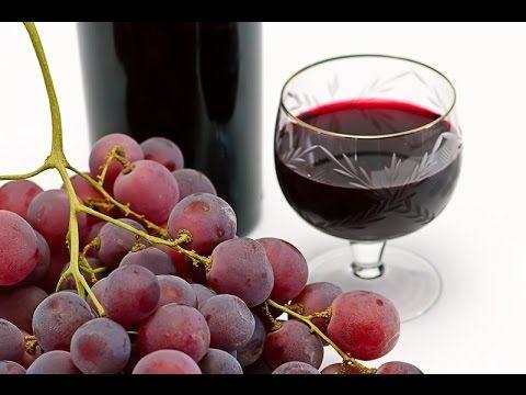 (12) Easy homemade grape wine| 4 ingredients wine - YouTube