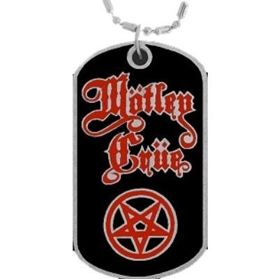 Motley Crue Dog Tag Necklace