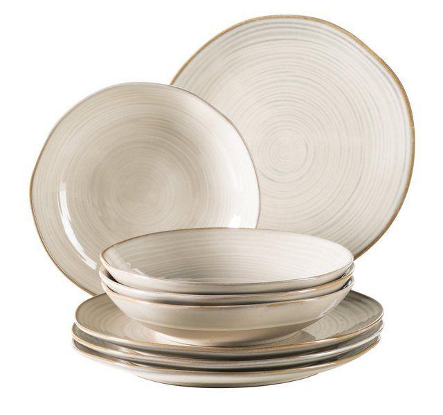 Maser Set Tafelservice Keramik Nottingham 8 Teilig Online