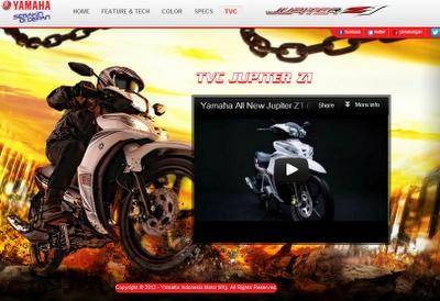 mudik dengan sepeda motor bebek irit jupiter z1