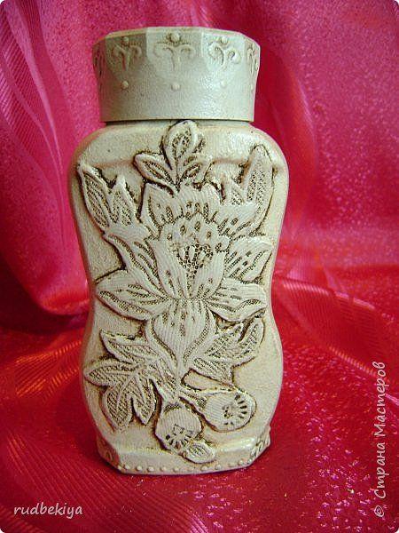 Декор предметов Мастер-класс Аппликация Венецианское кружево 2 секрета Материал бросовый фото 11