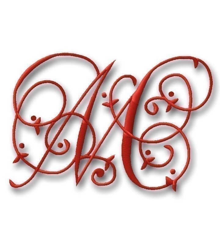 free embroidery font patterns | Embroidery Font Shop – Monogram Designs, Embroidery Fonts