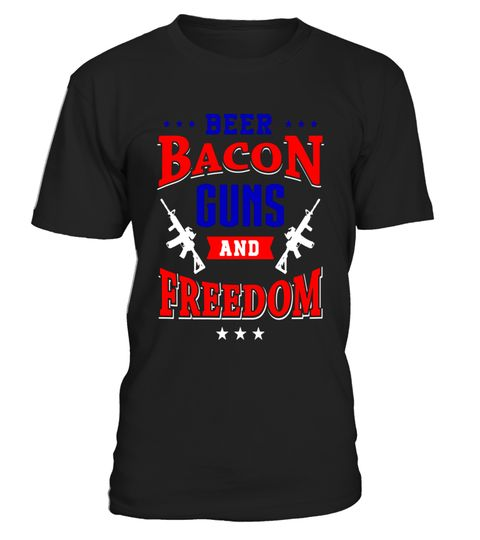 """# Beer Bacon Guns and Freedom Shirt Patriotic American Tee .  Special Offer, not available in shops      Comes in a variety of styles and colours      Buy yours now before it is too late!      Secured payment via Visa / Mastercard / Amex / PayPal      How to place an order            Choose the model from the drop-down menu      Click on """"Buy it now""""      Choose the size and the quantity      Add your delivery address and bank details      And that's it!      Tags: Show your American pride…"""