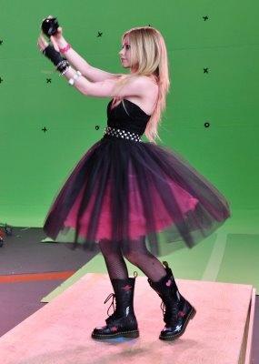 Super cool pink tutu dress.