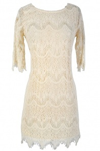Vintage-Inspired Lace Overlay Dress in Ivory: Fashion Clothing, Apparel Chicago, Woman Clothing, Clothing Online, Teen Clothing, Prom Dresses, Lilies Shops, Clothing Styles, Celebrity Clothing