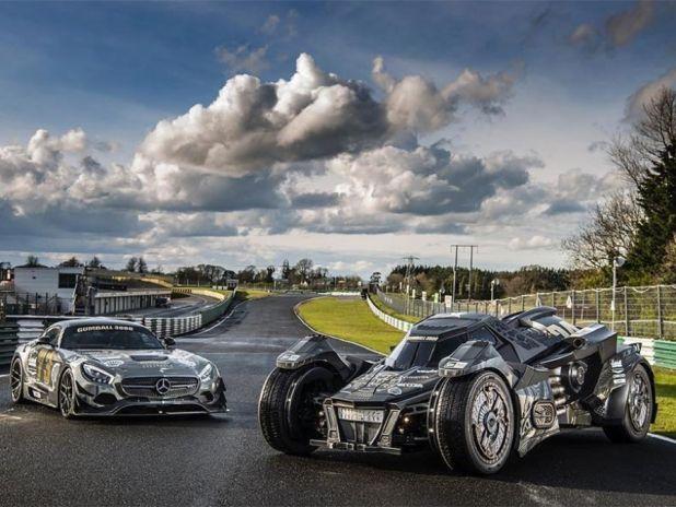 Gumball 3000 (2016): Batmobil am Start - autozeitung.de