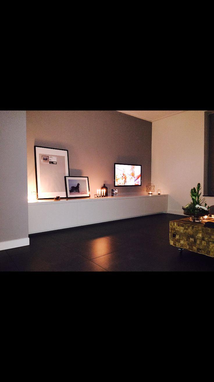 Meer dan 1000 ideeu00ebn over Woonkamer Tv op Pinterest - TVs, Tv Muren ...
