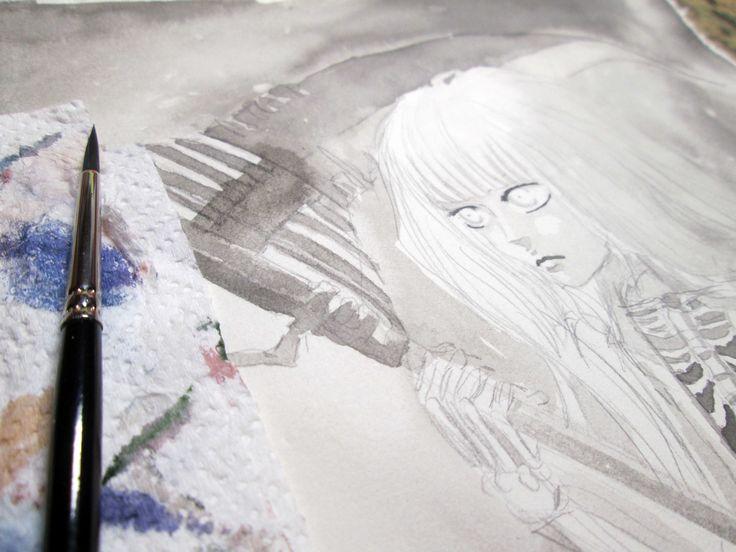 Work in progress... (detail) by Kashoka