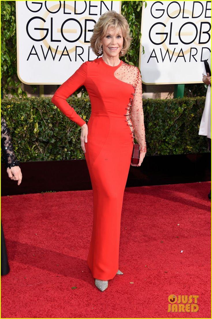 Grace & Frankie's Jane Fonda & Lily Tomlin Hit Golden Globes 2015 | jane fonda golden globes 2015 01 - Photo