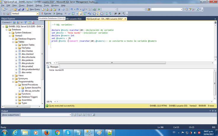 T-SQL Variables1