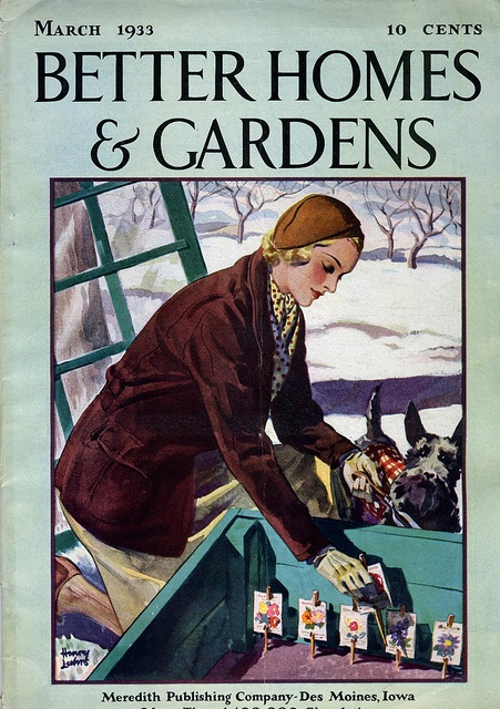222 best images about vintage magazine covers on pinterest good housekeeping magazine covers March better homes and gardens
