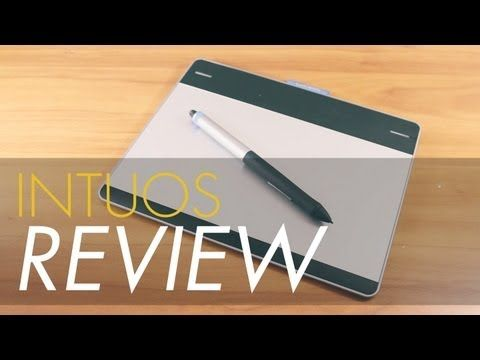 Wacom Intuos Pen and Touch Review! (2013 CTH480) - YouTube