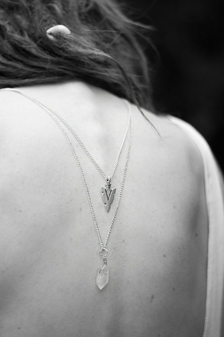Arrow necklace via FREESPIRITCLOTHING. Click on the image to see more!