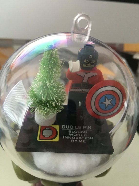Lego Avengers Marvel like christmas ornaments by TheForceofMarvel