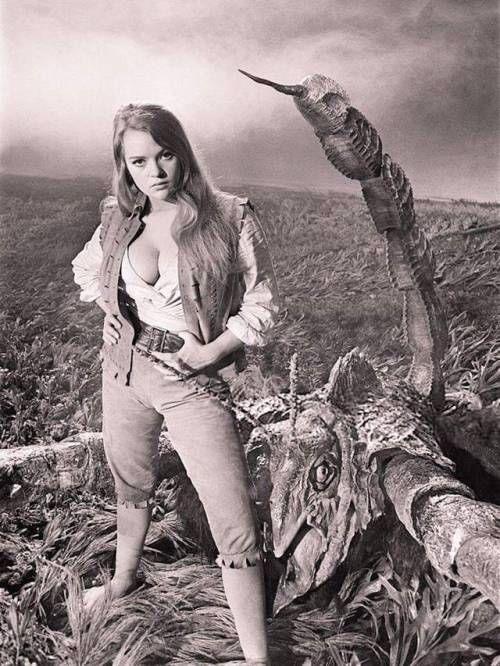 """Dana Gillespie in """"The Lost Continent"""" (1968)."""