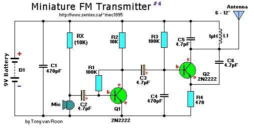 Free Download Fm Transmitter Circuit Diagram