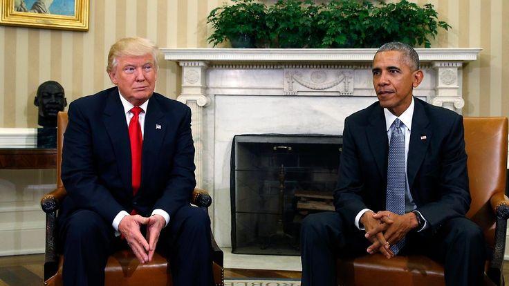 """Erstes Treffen im Weißen Haus: """"Wir wollen, dass die Familie Trump sich hier willkommen fühlt"""""""