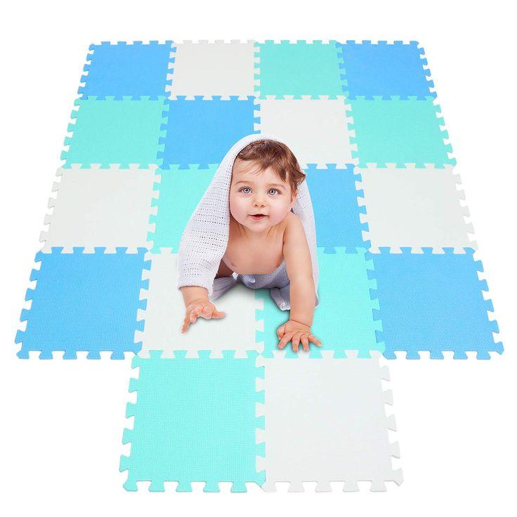 Krabbelmatte für Babys und Kleinkinder. Diese Puzzlematte