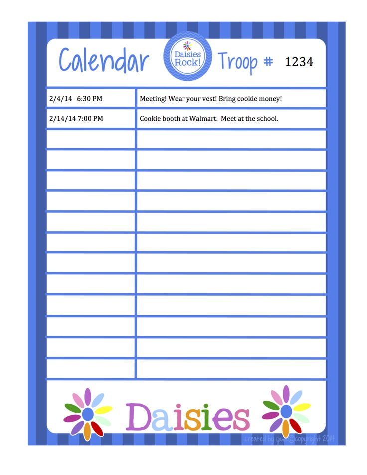 1241 best Free Printable- Daily,Weekly \ Monthly Organization - daily task calendar template