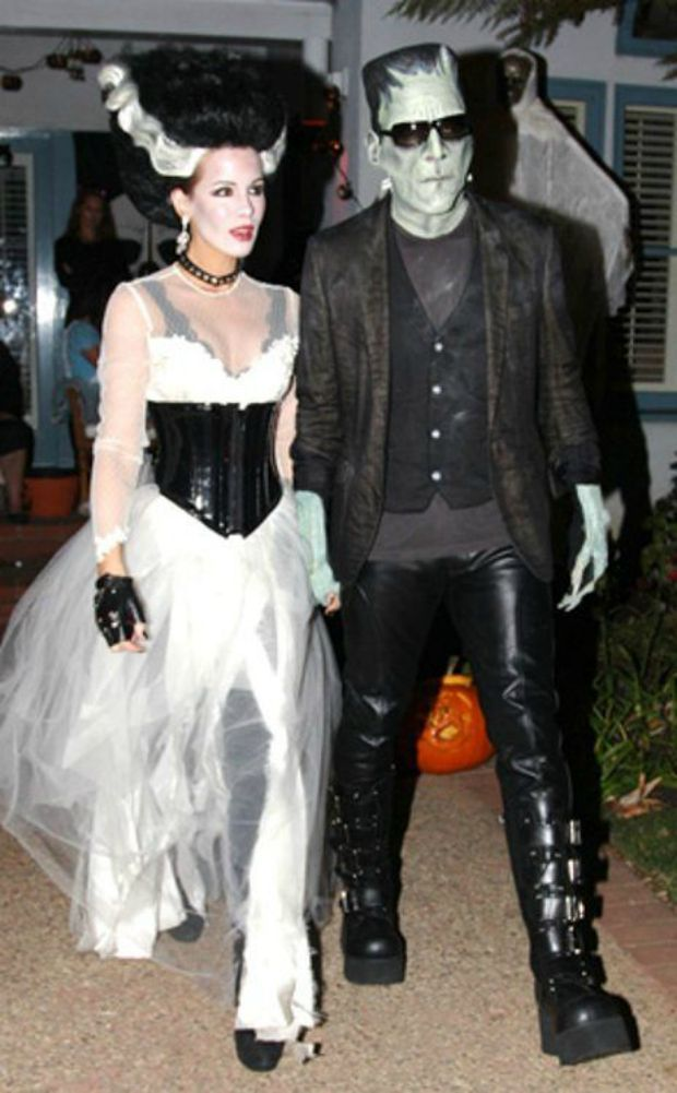 50 totally clever halloween costumes for couples - Quick Scary Halloween Costumes