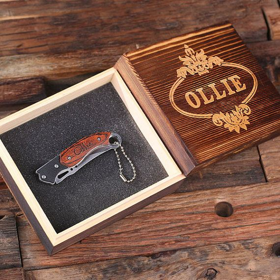 Personalized Engraved Monogrammed Pocket Knife by TealsPrairie