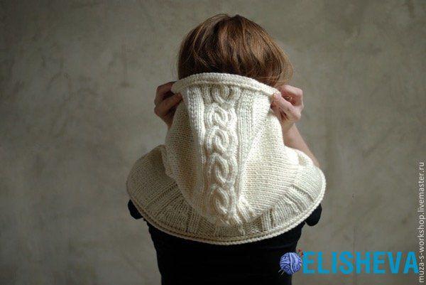 Вязаный капюшон — стильный аксессуар для женщин и девочек | Блог elisheva.ru