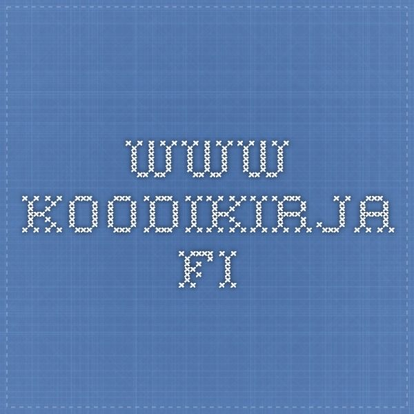 www.koodikirja.fi