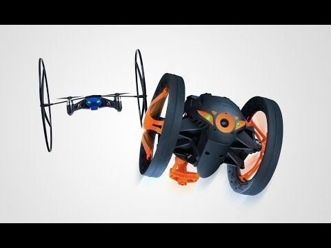 Parrot MiniDrone & Parrot Jumping Sumo - Connected Toys! - YouTube