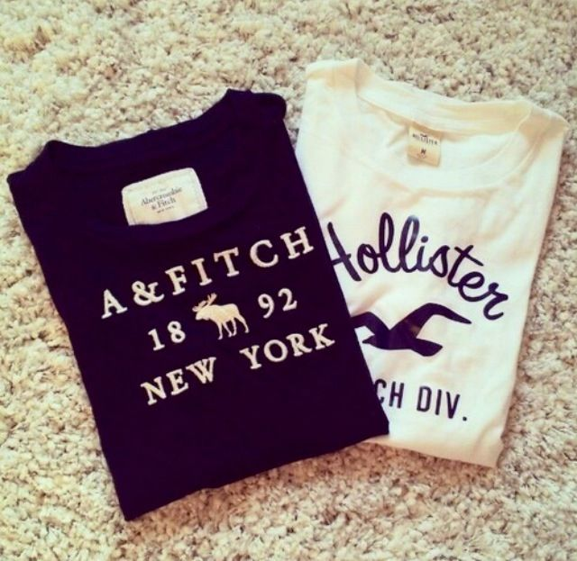 #abercromboe&fitch #hollister