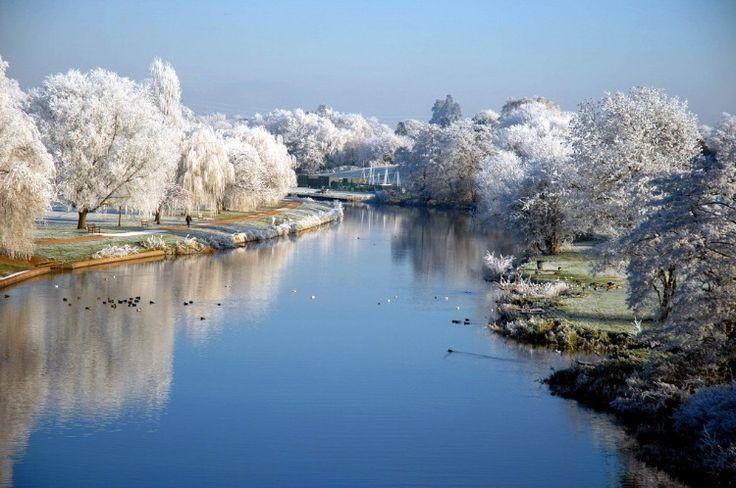 The River Avon, St Nicholas Park, Warwick