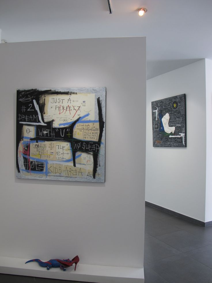 Several paintings of mine at Marie Ricco Gallery in Calvi, France till october 2015.
