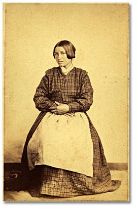 Janet Woppumnaweskum, Métis woman; Rupert's House, ca 1869.  Bernard Rogan Ross Black & White Print Archives of Ontario
