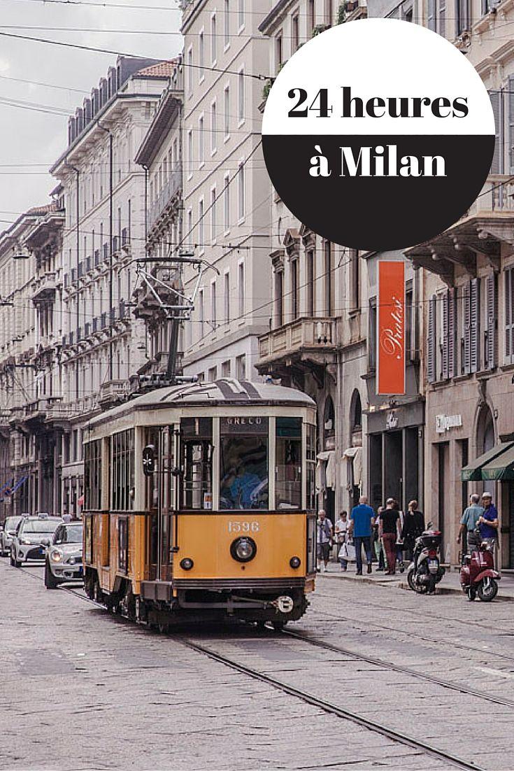 24 heures à Milan, que faire ?  Détail d'une journée tranquille à travers la ville  #milan #blogville