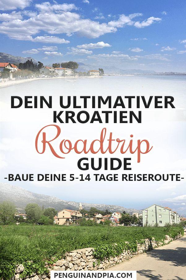 5-14 Tage Kroatien Roadtrip: Beispiel-Routen für deine Kroatien Rundreise