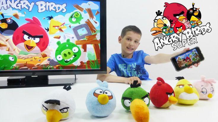 Игры! Обзор приложений мобильных игр Angry Birds от Кости ИгроБой! Пройд...