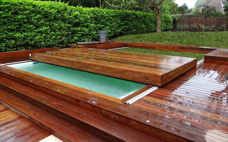 Terrasse mobile pour piscine, terrasse amovible pour piscine : Octavia |