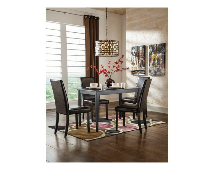 Contemporary 5 Piece Dining Set