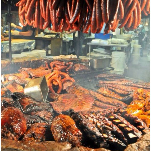 My dream pit.  From Salt Lick BBQ in Texas.