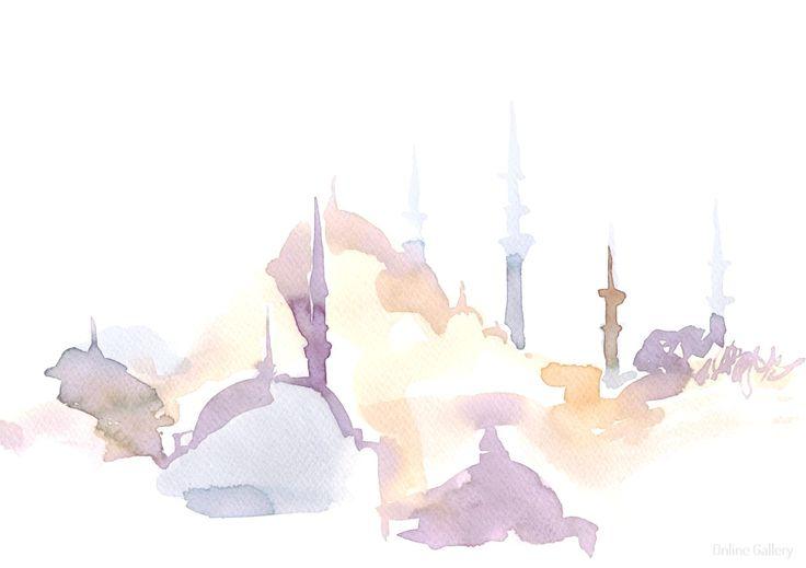 acuarela-istambul2