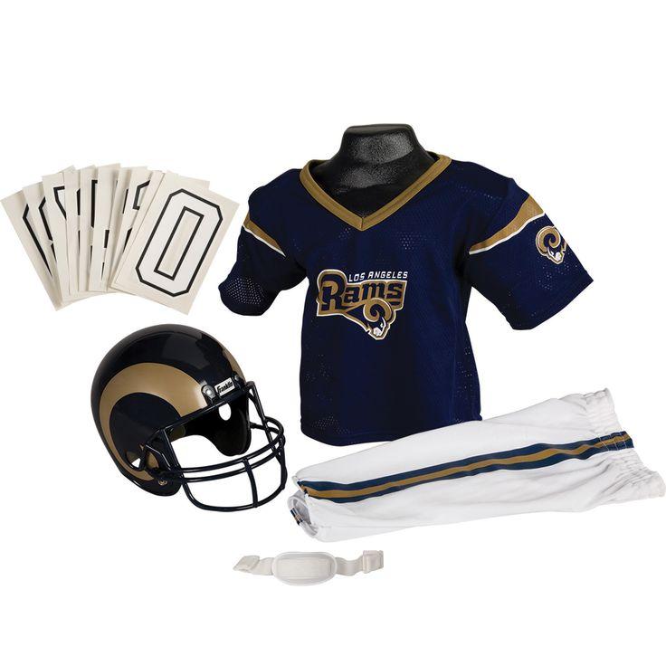 Franklin Sports NFL Los Angeles Rams Deluxe Uniform Set